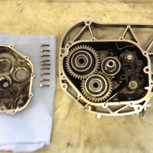 Hier sehen Sie ein K1200RS Getriebe